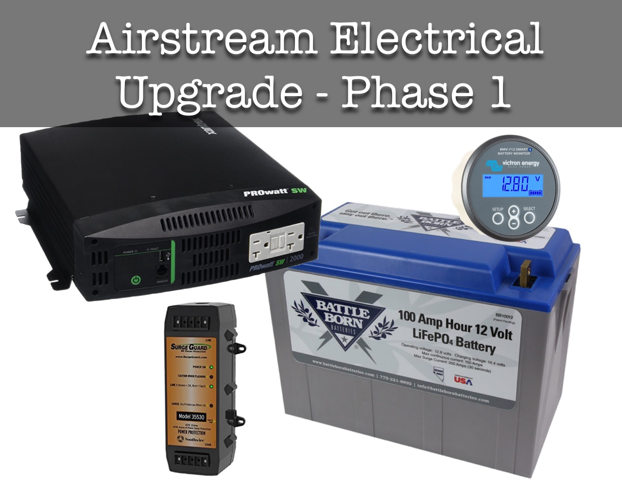 airstream electrical system upgrade phase i \u2013 wacky wanderers AC Wiring Diagram